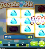 Dazzle Me Slot Offers Wild and Linked Reels