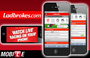 Ladbrokes have just launched a new iPhone application and at the same time they're offering everyone the chance to win an iPhone 4S.