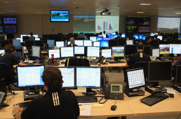 Thousands of technicians are set to keep this year's Olympic Games connected to a worldwide audience amid the treat of cyber-attacks and substantial online traffic.