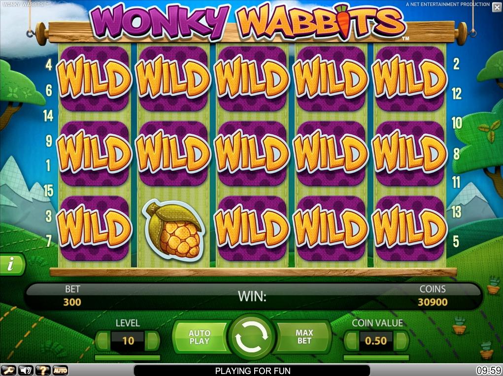 Играть Онлайн Wonky Wabbits На Реальные Деньги