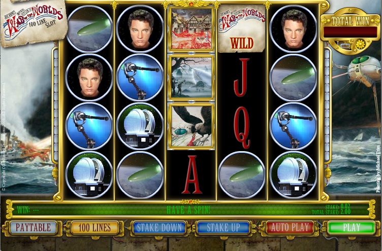 The War Of The Worlds Slots The War Of The Worlds Is A 5 Reel 100