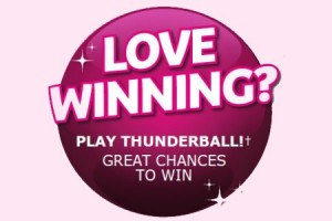 The Thunderball Lotto Draw this Saturday Offers A Chance to Win £500,000