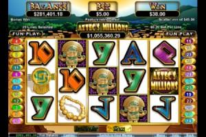 Aztec Millions $1.6Million Jackpot Ready to Go