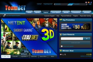 New Online Casino - TeamBet Casino