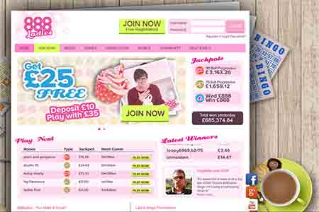 888Ladies Completely Redesigns Bingo Offering