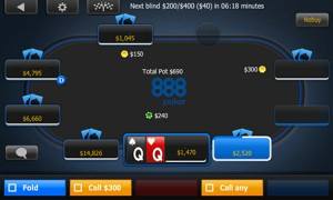 888Poker Release Multi-table Tournament App Upgrade