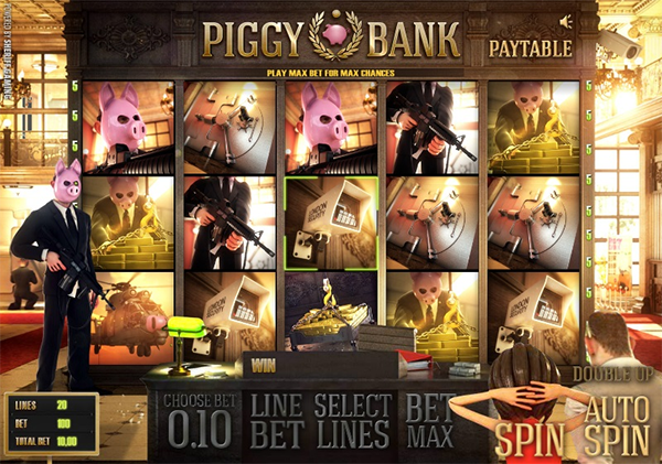 90,000 Win on New Piggy Bank Slots