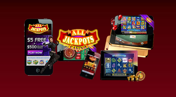 All Jackpots Casino Launches Mobile App