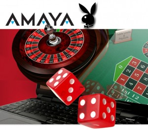 An announcement from the Amaya Gaming Group based in Canada said that it has been selected by Playboy Enterprises to collaborate and develop online games such as poker and the lottery, for the Playboy brand.