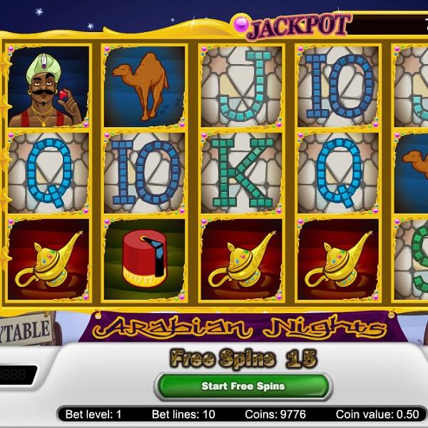 Mr Green Casino Offers Arabian Nights Progressive Jackpot of €1.5M