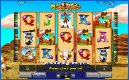 Armadillo Artie: Dash for Cash Slot released by Novomatic