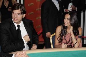 Ashton Kutcher enjoys playing poker