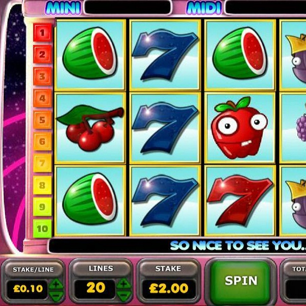 Betfair Casino Astro Fruit Video Slot Jackpot Approaching £105K