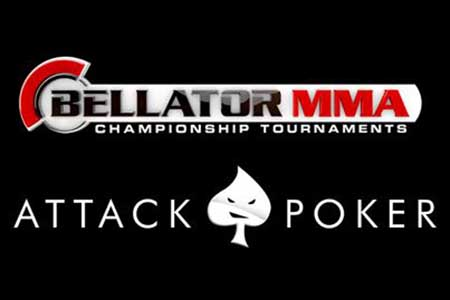 Attack Poker Signs Deal with Bellator MMA