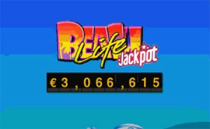 Beach Life Progressive Jackpot Pays Out Over $3 Million