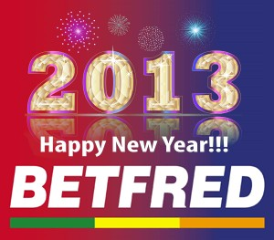 What will be the first defining event of 2013? The bookmakers BetFred has some fun ideas and has opened a great betting market.
