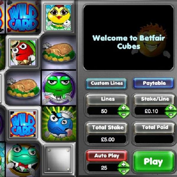 Betfair Casino Cubes Progressive Jackpot Approaches £280K