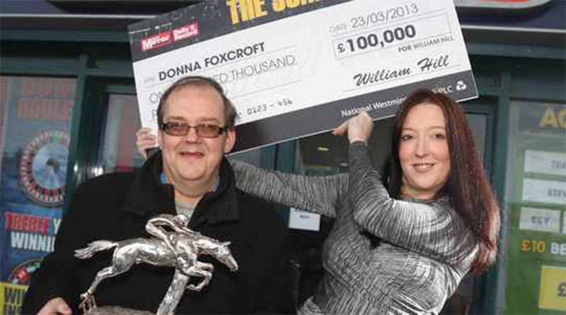 Betfred Staff Win 100000 at William Hill