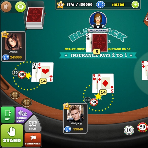 Challenge Your Friends in LazyLand SA's BlackJack Arena