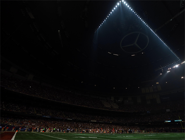 Blackout at the Super Bowl