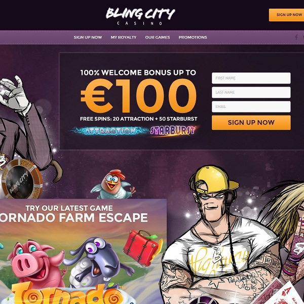 Bling City Casino Offers Social Online Gambling