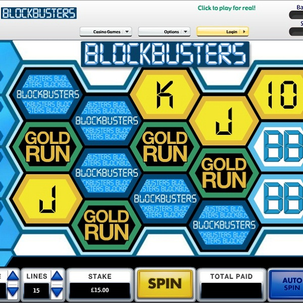 Betfair Casino's Blockbusters Drop Video Slot Offers £22K
