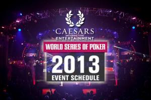 Caesars Releases 2013 WSOP Schedule