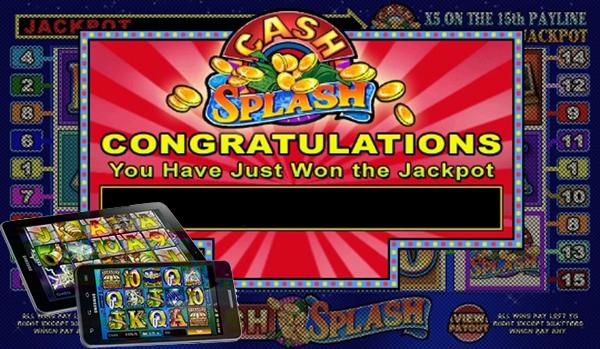 Cash Splash Progressive Jackpot Hit