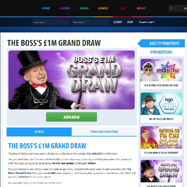 Win a Share of £1 Million at BGO Casino This Month