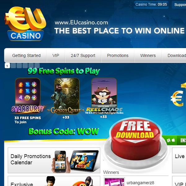 Enjoy Happy Hour and Weekend Races at EU Casino