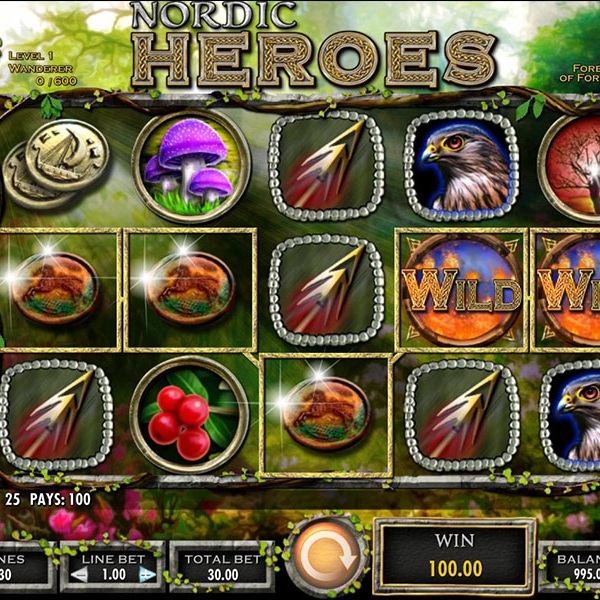 Play Nordic Heroes to Win a Share of £15K at Mr Green