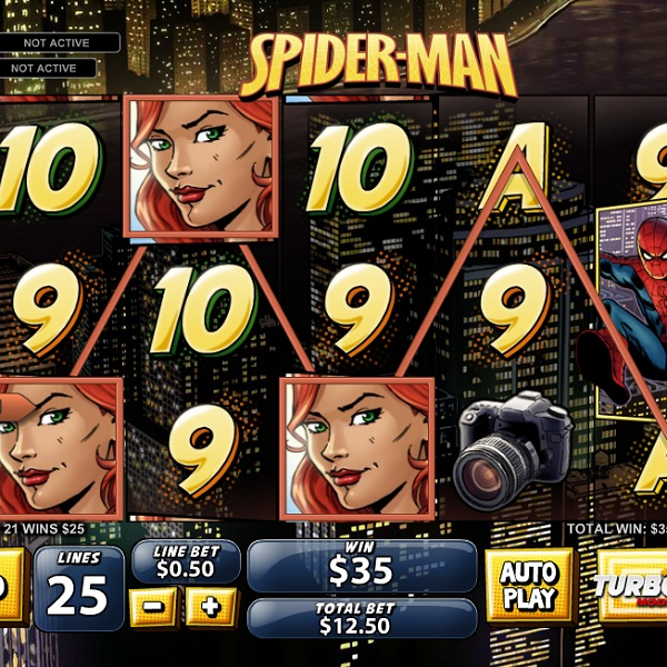Winner Casino Offers Free Spiderman Slot Spins