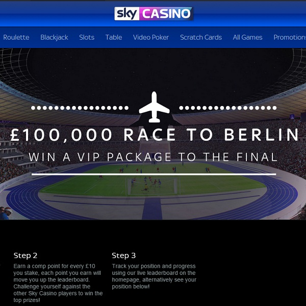 Win a Trip to Berlin with Sky Casino