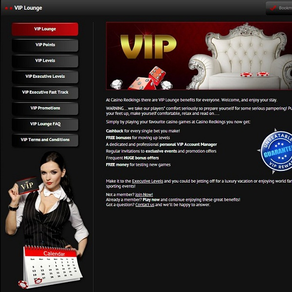 Enjoy VIP Treatment at Casino Redkings on Wednesday
