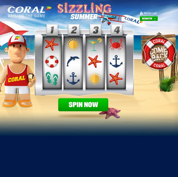 Enjoy the £500K Sizzling Summer Giveaway at Coral Casino