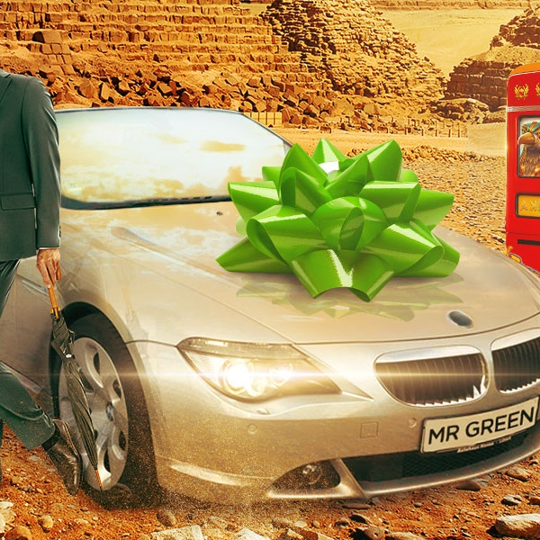 Win a Luxury Sports Car and a share of €10K Cash at Mr Green