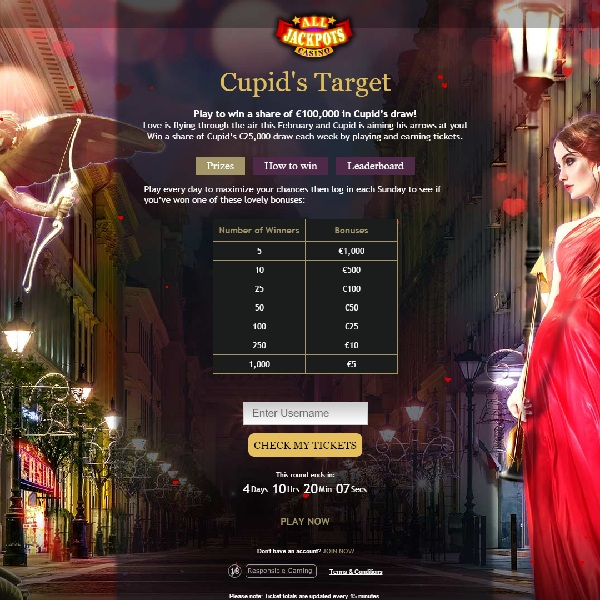 Win a Share of $100,000 at All Jackpots Casino