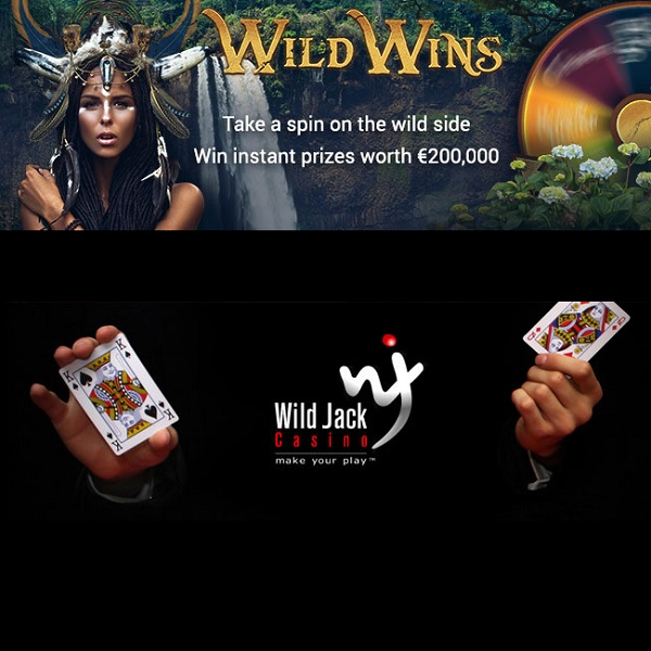 Win a Share of €200K of Instant Prizes at Wild Jack Casino