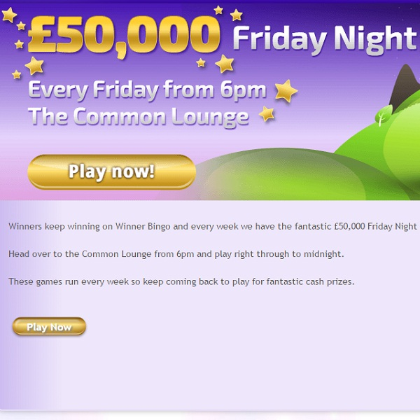 £100K Up for Grabs at Winner Bingo this Weekend
