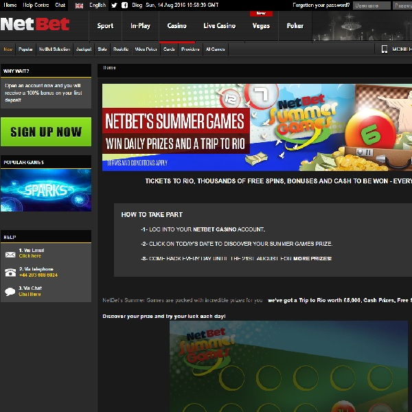 Win a Trip To Rio, Cash Prizes and More at NetBet Casino
