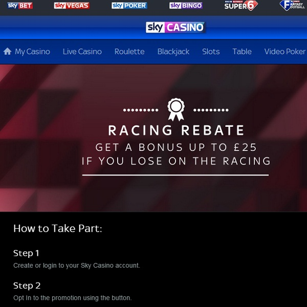 Sky Casino Offers Cashback on Losing Royal Ascot Bets