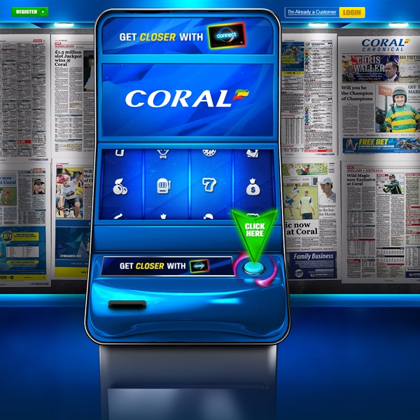 Win a Share of £100K in Coral Connect 4 Giveaway