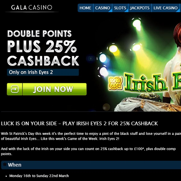 Gala Casino Is Giving Away Cash This Weekend