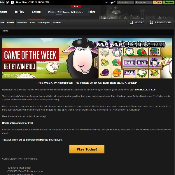 Win £100 By Playing NetBet's Game of the Week