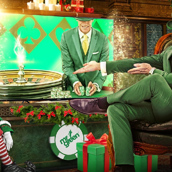 Win A Ultra HD Smart TV at Mr Green Casino