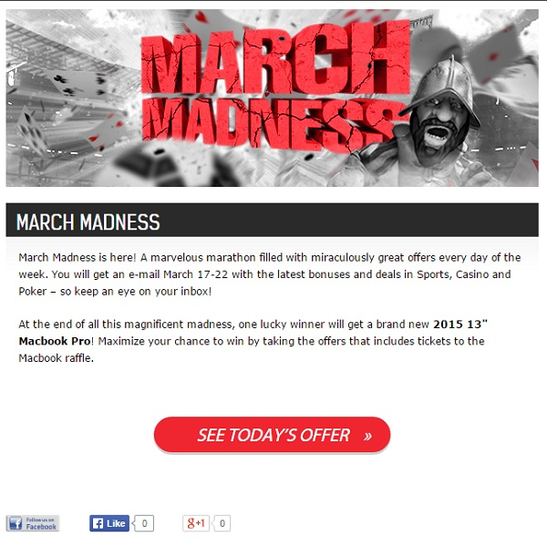 Redbet Casino Offers Daily March Madness Promotions