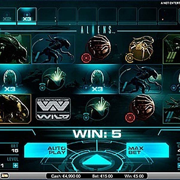Receive Up to 125 Free Spins on Aliens at Mr Green