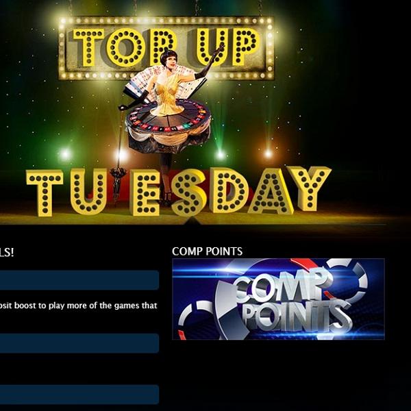 Gala Casino Offers Deposit Bonuses All Day Tuesday