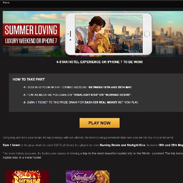 Win a Luxury Weekend in London at NetBet Casino