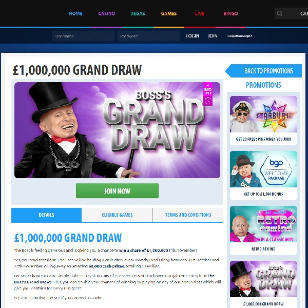 Claim a Share of £1 Million in BGO Prize Draw